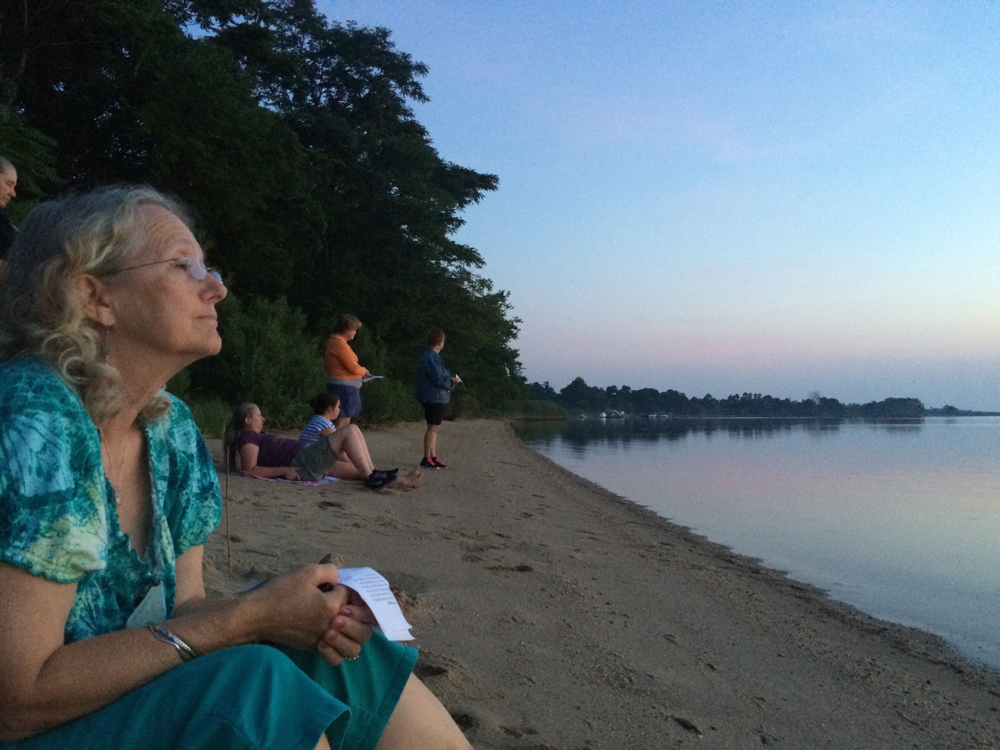 Silent Retreat Sunset Prayer