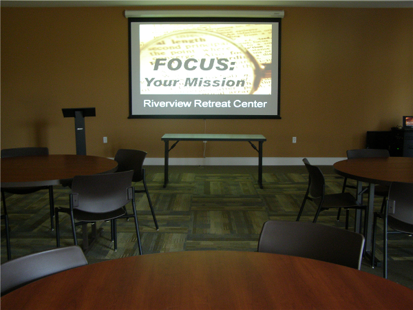 Meeting rooms are wired with LCD Projector and screen, sound system with microphone, DVD/CD player