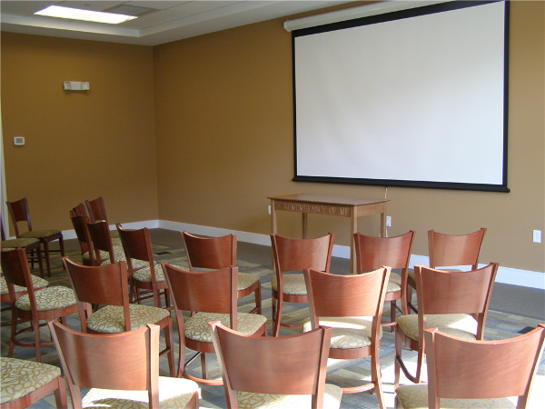 Meeting rooms can also be arranged for worship and other activities.