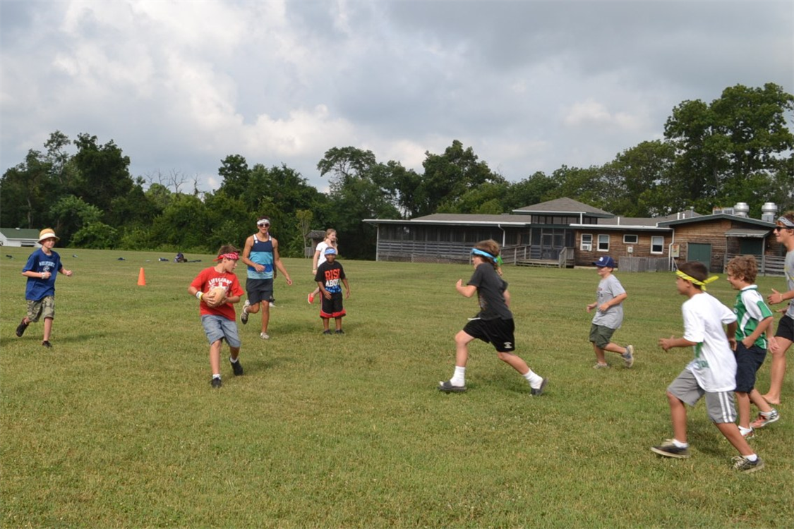 Our It's All Fun and Games campers spend their days playing high-energy games!