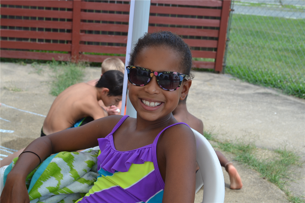 During pool time campers can swim, or hang out in the pool area. Don't worry - we make sure everyone reapplies their sunscreen!