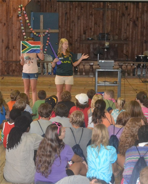 Staff from South Africa share about their culture during International Spotlight each week.