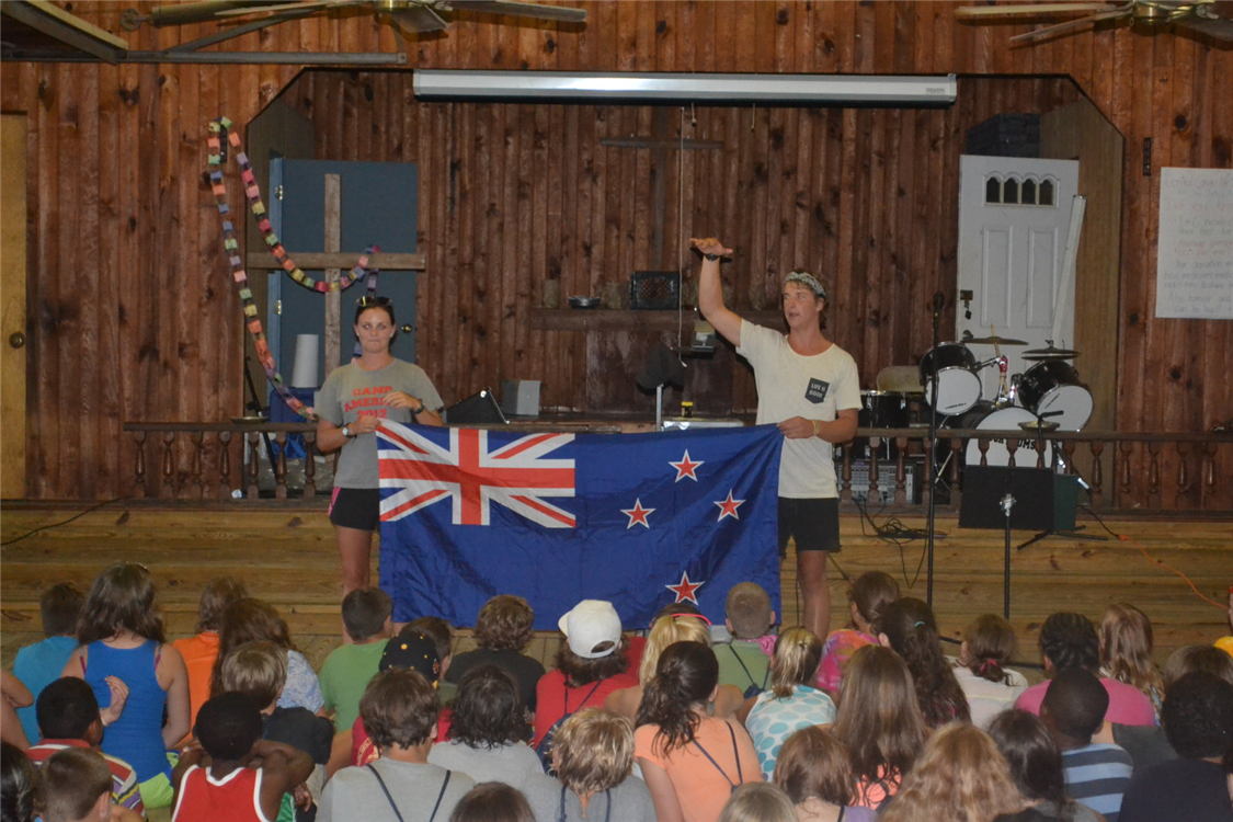 Staffers from New Zealand share about their culture during International Spotlight each week.