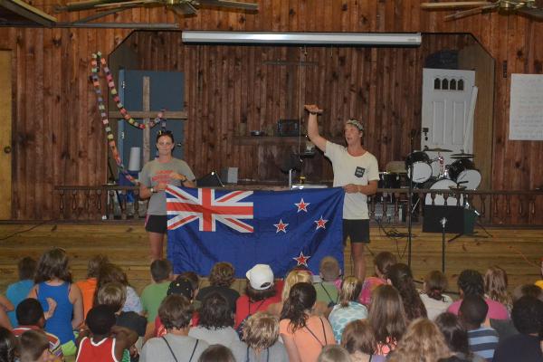 Staffers from New Zealand share about their culture during International Spotlight each week.