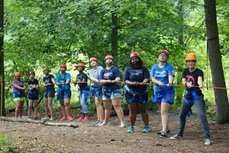 Director's Leadership Week Campers